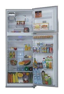 Холодильник TOSHIBA GR-RG59RD(GU),  двухкамерный,  черное стекло