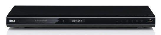 DVD-плеер LG DVX-697KH,  черный