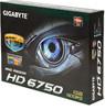 Видеокарта GIGABYTE Radeon HD 6750,  1Гб, GDDR5, OC,  Ret [gv-r675oc-1gi] вид 7