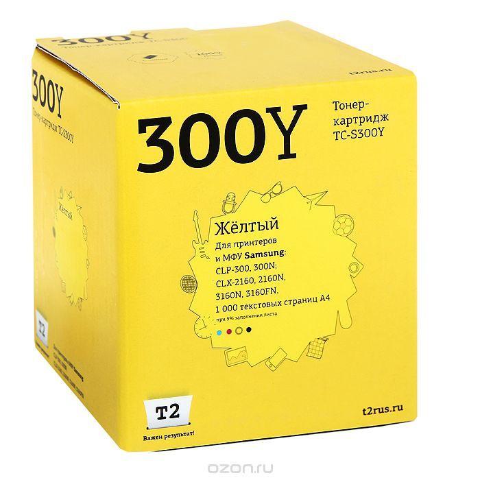 Картридж T2 CLP-Y300A желтый [tc-s300y]