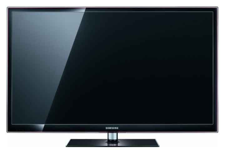 "Плазменный телевизор SAMSUNG PS59D550C1W  ""R"", 59"", 3D,  FULL HD (1080p),  черный"