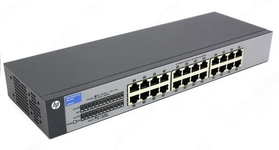 Коммутатор HPE V1410-24, J9663A
