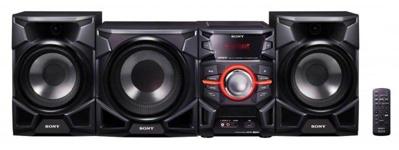 Музыкальный центр SONY MHC-EX900,  черный