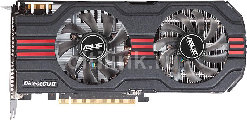 Видеокарта ASUS GeForce GTX 560,  1Гб, GDDR5, OC,  Ret [engtx560 dcii top/2di/1gd5]