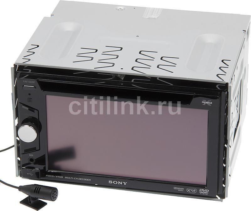 Автомагнитола SONY XAV-E62BT,  USB