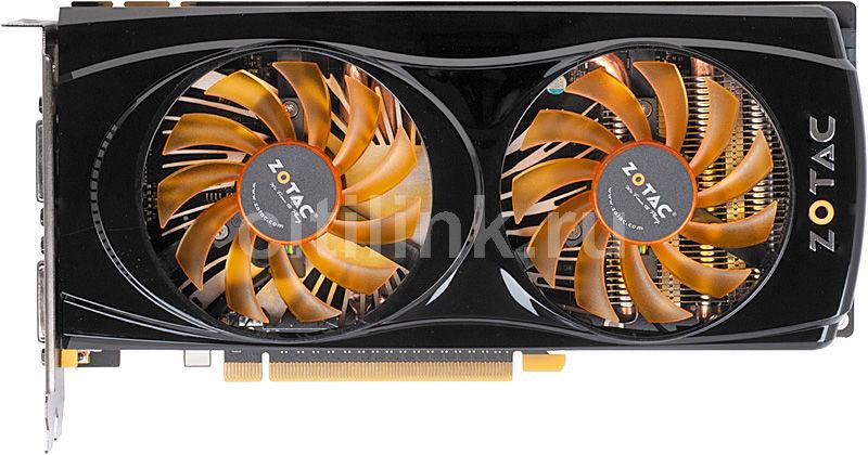 Видеокарта ZOTAC GeForce GTX 560,  1Гб, GDDR5, OC,  Ret [zt-50702-10m]