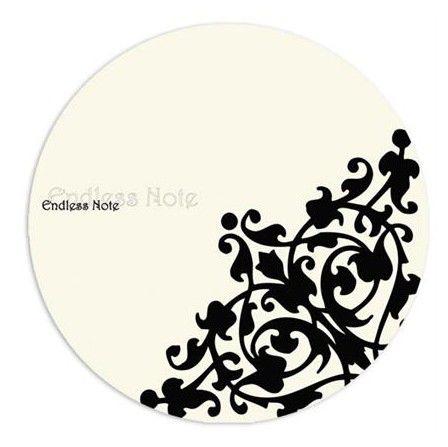 Коврик для мыши G-CUBE Endless Note GMBW-20EN белый/рисунок