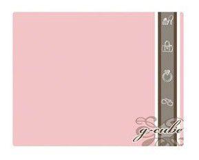 Коврик для мыши G-CUBE Royal Club Innoсence GMR-20RI розовый/рисунок