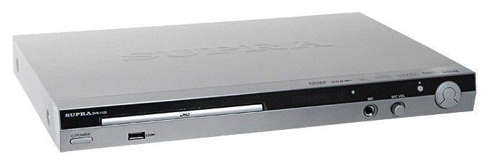 DVD-плеер SUPRA DVS-112X,  серебристый