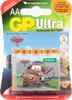Батарея GP Ultra 15AUDCT-CR4 +магнит Тачки2,  4 шт. AA вид 1