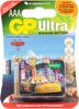 Батарея GP Ultra 24AUDCT-CR4 +магнит Тачки2,  4 шт. AAA вид 1