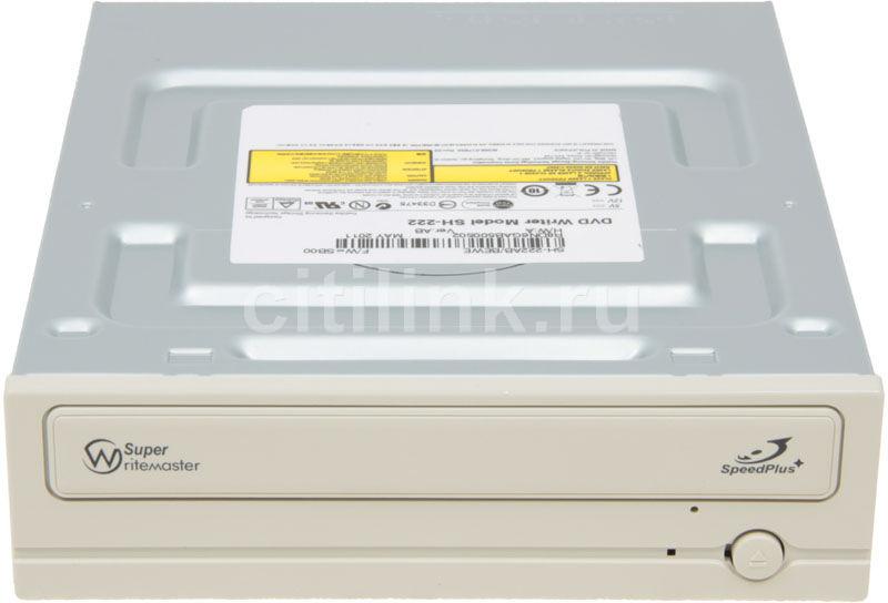 Оптический привод DVD-RW SAMSUNG SH-222AB/BEWE, внутренний, SATA, белый,  OEM