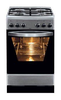 Газовая плита HANSA FCGX56012030,  газовая духовка,  серебристый