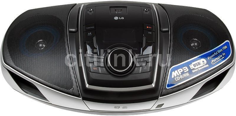 Аудиомагнитола LG SB74,  черный