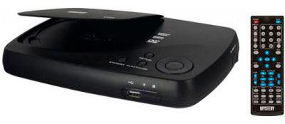 DVD-плеер MYSTERY MDV-621U,  черный [дубль использовать 628945]