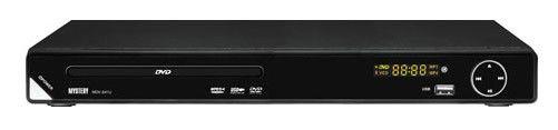 DVD-плеер MYSTERY MDV-841U,  черный