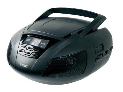 Аудиомагнитола MYSTERY BM-6101,  черный