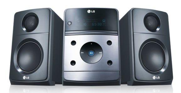 Музыкальный центр LG XB64,  серый