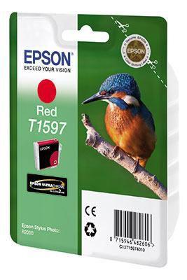 Картридж EPSON T1597 красный [c13t15974010]