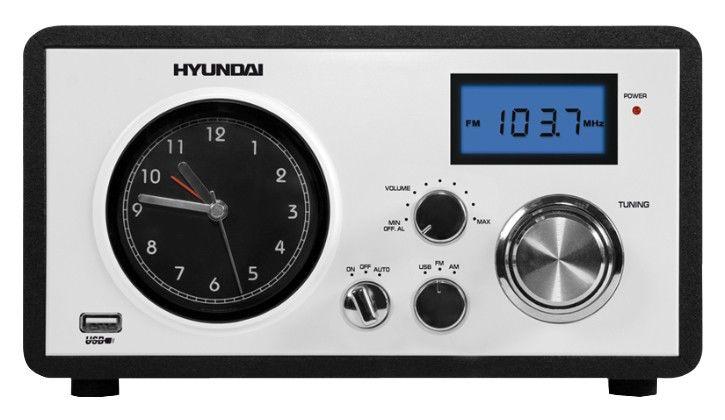 Радиоприемник HYUNDAI H-1630,  черный