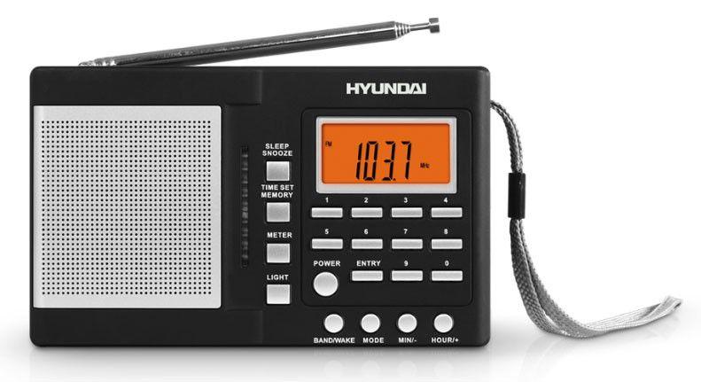 Радиоприемник HYUNDAI H-1631,  черный