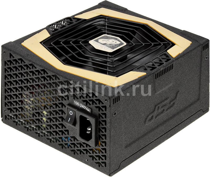 Блок питания FSP AU-600,  600Вт,  120мм,  черный, retail