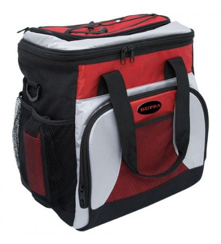 Автохолодильник SUPRA MBC-21,  21л,  белый и красный
