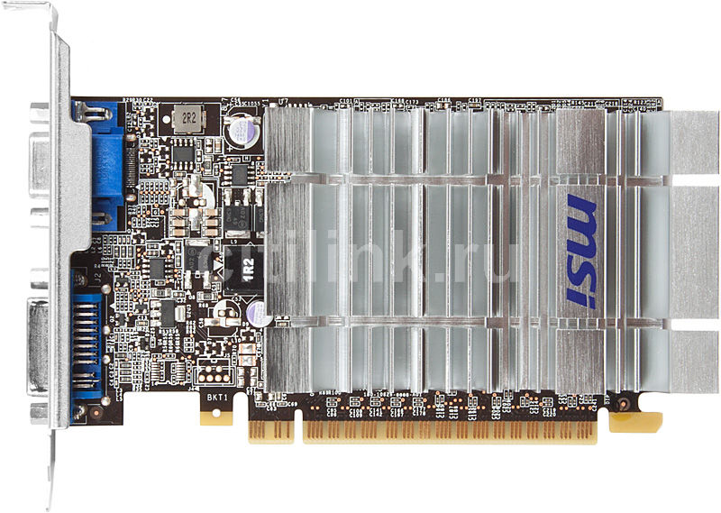 Видеокарта MSI GeForce 210,  512Мб, DDR2, Ret [n210-d512d2h]