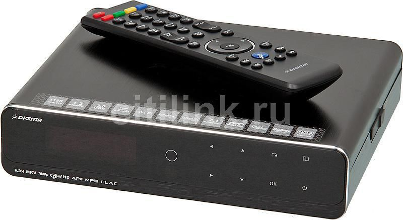 Медиаплеер DIGMA HDMP-550,  черный