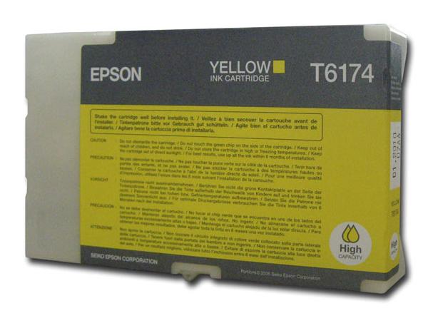 Картридж EPSON C13T617400 желтый