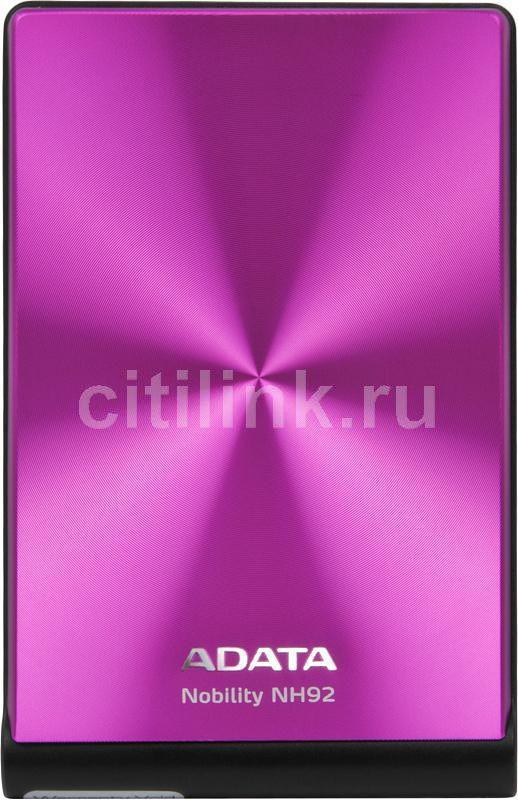 Внешний жесткий диск A-DATA NH92, 1Тб, розовый [anh92-1tu-cpk]