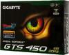 Видеокарта GIGABYTE GeForce GTS 450,  1Гб, DDR3, Ret [gv-n450d3-1gi] вид 7
