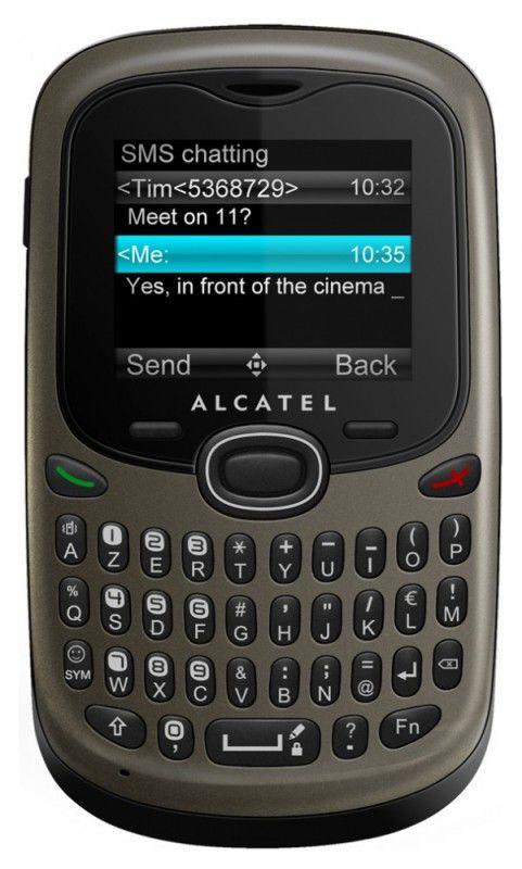 Мобильный телефон ALCATEL OT-255D,  серый