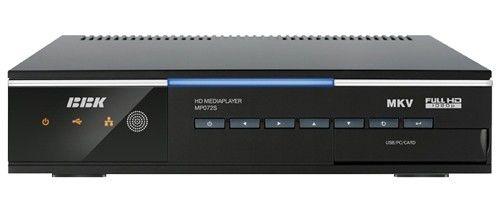 Медиаплеер BBK MP072S,  1.5Тб черный