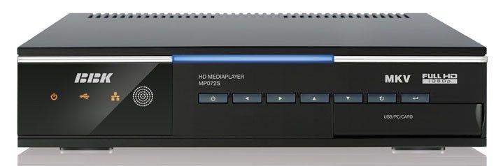 Медиаплеер BBK MP072S,  2Тб черный