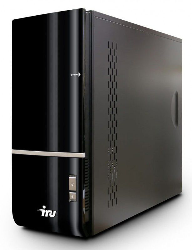 Компьютер  IRU Home 510,  Intel  Core i5  2300,  DDR3 4Гб, 1Тб,  nVIDIA GeForce GTX 550Ti - 1024 Мб,  DVD-RW,  CR,  Windows 7 Home Basic,  черный [634994]