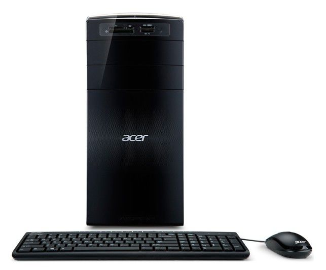 Компьютер  ACER Aspire X3450,  AMD  Athlon II X3  450,  DDR3 3Гб, 500Гб,  AMD Radeon HD 6450 - 1024 Мб,  DVD-RW,  CR,  Windows 7 Home Basic,  черный [pt.sg0e1.009]