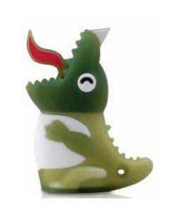 Флешка USB BONE Dinosaur 4Гб, USB2.0, зеленый [dr08011-4g]