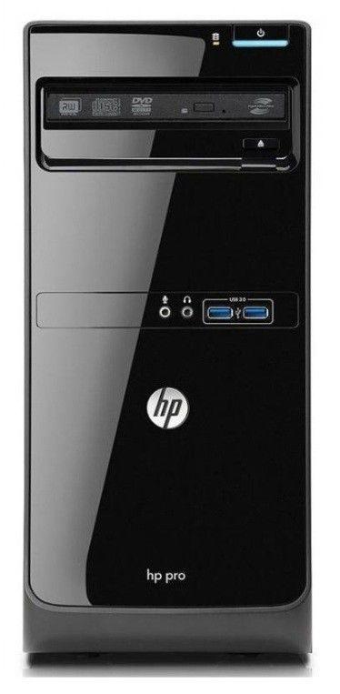 Компьютер  HP Pro 3400MT  + монитор 2011x,  Intel  Pentium  G630,  DDR3 4Гб, 500Гб,  Intel HD Graphics,  DVD-RW,  CR,  Windows 7 Professional,  черный [qb053ea]