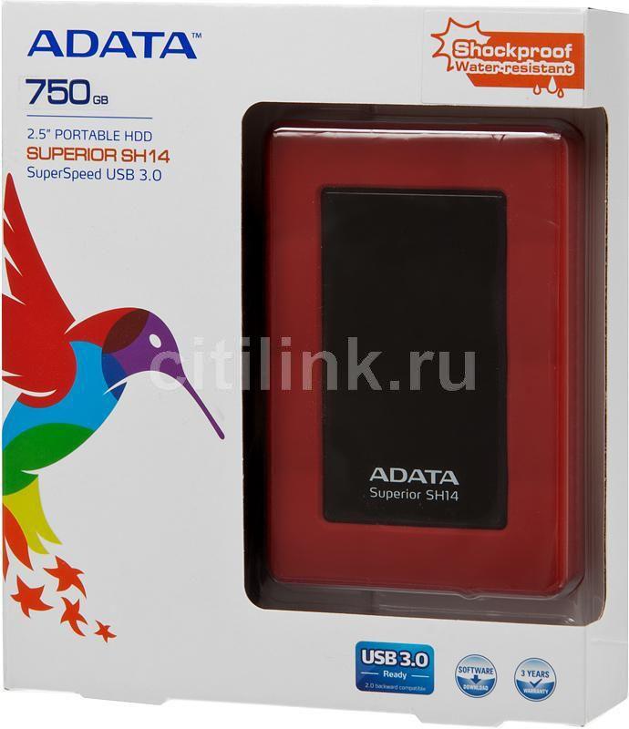 Жесткий диск A-Data Classic HV100 1Tb USB 3.0 Blue AHV100-1TU3-CBL