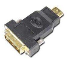Переходник DVI GEMBIRD A-HDMI-DVI-1,  DVI-D (m) -  HDMI (m),  GOLD ,  черный