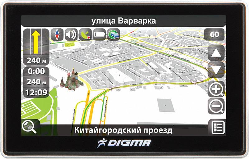 GPS навигатор DIGMA DS507BN,  5