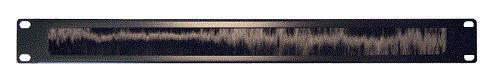 Кабельный органайзер Горизонтальный Lanmaster (LAN-ORG/BP-1U ) двухсторонний щетки 1U шир.:19