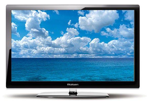 """Телевизор ЖК ROLSEN RL-19B05  """"R"""", 19"""", белый"""