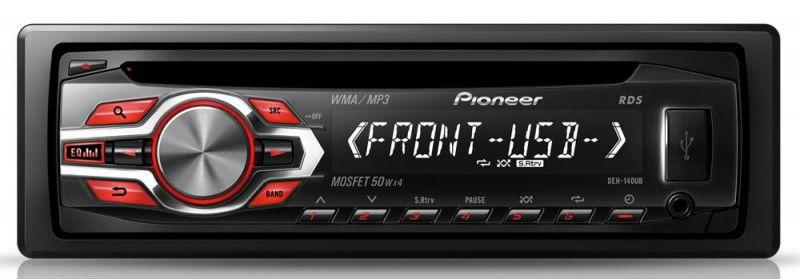 Автомагнитола PIONEER DEH-140UB,  USB