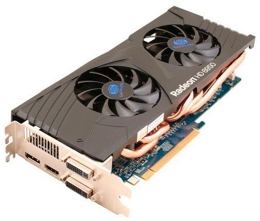 Видеокарта SAPPHIRE AMD  Radeon HD 6950 ,  2Гб, GDDR5, Ret [11188-xx-20r]