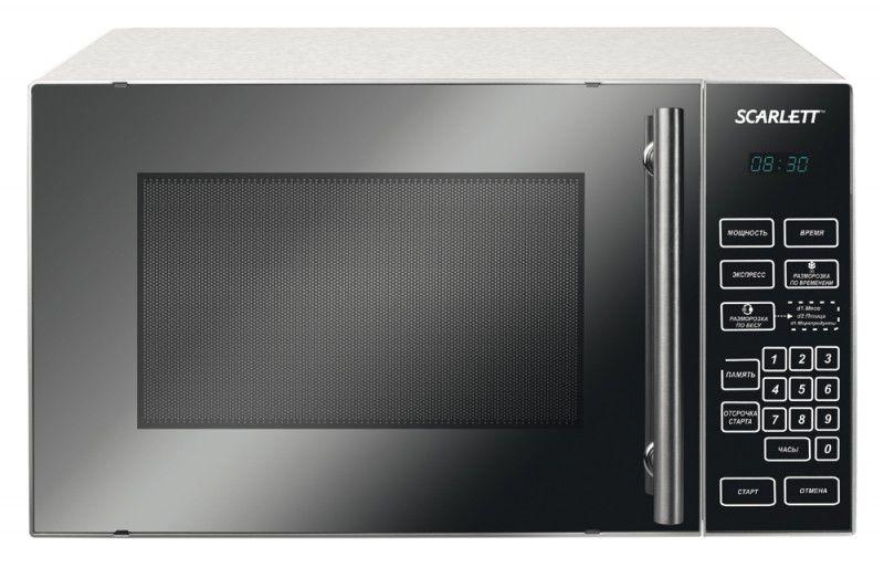 Микроволновая печь SCARLETT SC-1710, серебристый