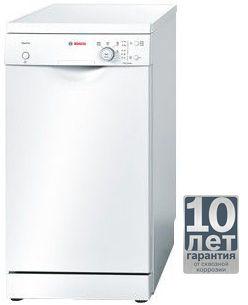 Посудомоечная машина BOSCH SPS40E42RU,  узкая, белая