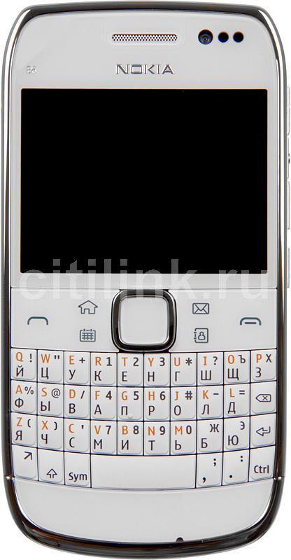 Смартфон NOKIA E6-00  белый
