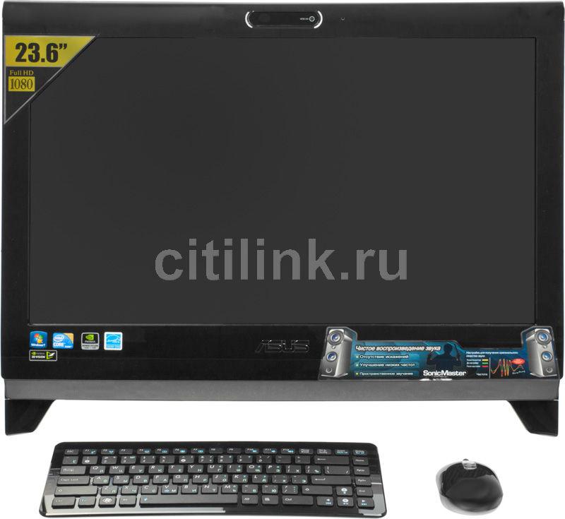 Моноблок ASUS ET2400XVT, Intel Core i7 740QM, 6Гб, 1000Гб, nVIDIA GeForce GTX 460M - 1536 Мб, Blu-Ray, Windows 7 Home Premium, черный [90pe3na21135e61b9c0q]